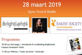 Bakery Society organiseert Sport, Food & Health-inspiratiedag