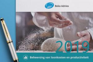 Beko adviseert sturen op loonkosten en productiviteit