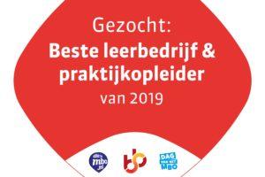 Deelnemers Leerbedrijf van het Jaar 2019 gezocht