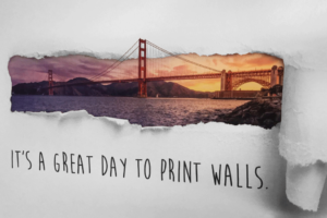 Wall-printer: fotorealistische print op de muur