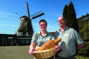 Molen maakt werk als bakker uitdagender