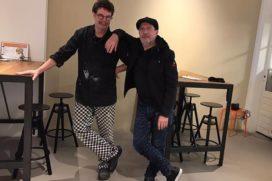 Tv-kok Caron bakt met Tom van Otterloo