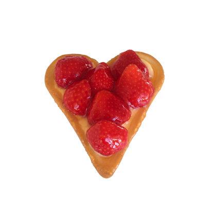 Aardbeienvlaaitjes van Jongerius Bakkerij.  Foto: fb