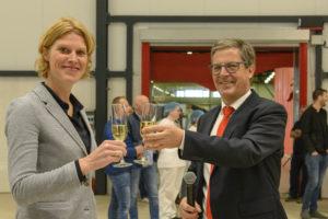 Royal Steensma opent nieuwe drooghal in Franeker