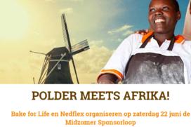 Bake for Life houdt sponsorloop van Polder tot Afrika
