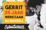 Gerrit van der Velden 25 jaar bij Bakkerij Schuiteman