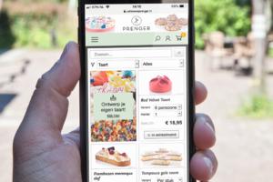 Gemakkelijk online bestellen via mobiel