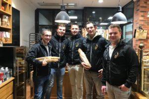 BoulangerieTeam in Nantes: dag 1