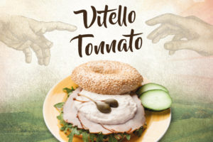 Bagels & Beans presenteert Vitello Tonnato