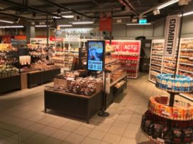 Coop test vernieuwde brood-afdeling